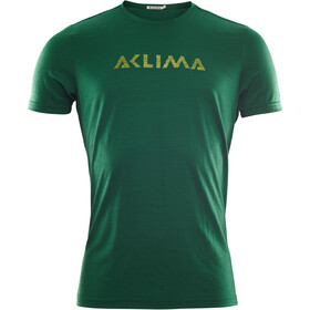 Aclima LightWool Logo T-Shirt Men eden